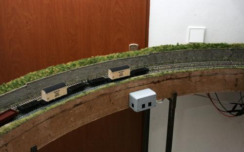 Další pohled na vymodelované díly trati Brod - Světlá