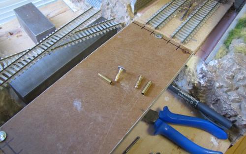 Příprava mostu a konektorů